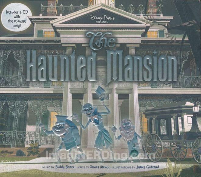 haunted mansion book
