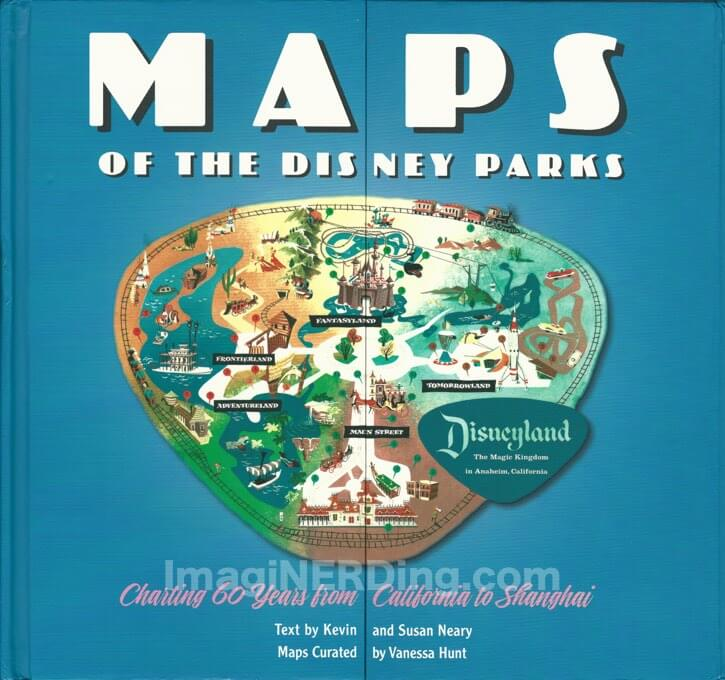 maps the Disney parks book