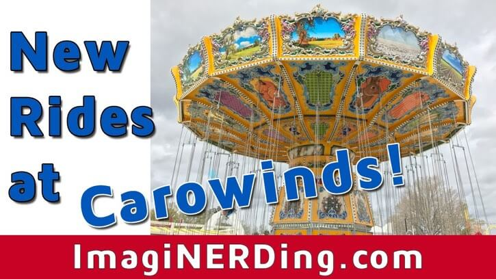 new rides at carowinds county fair