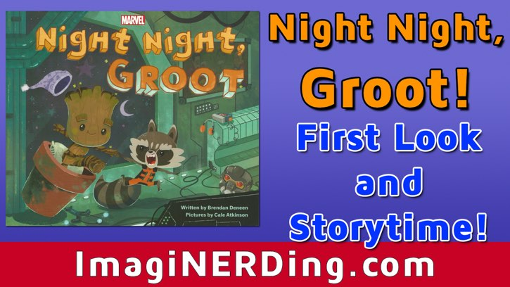 Night Night, Groot Picture Book, a review!