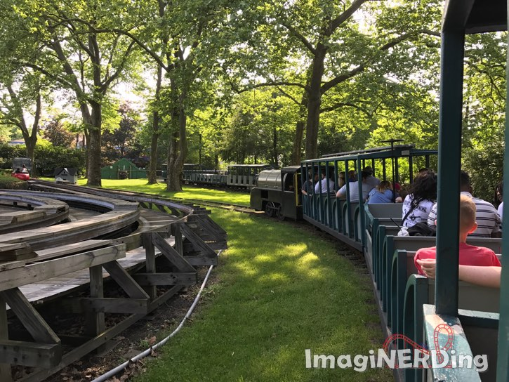 kennywood train