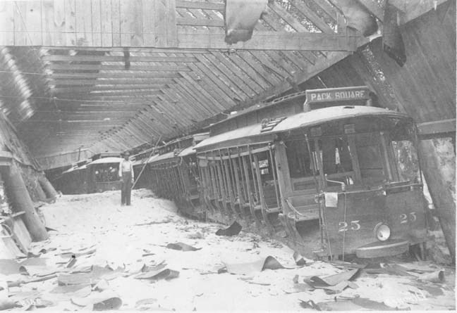 Riverside Park Asheville Great Flood of 1916