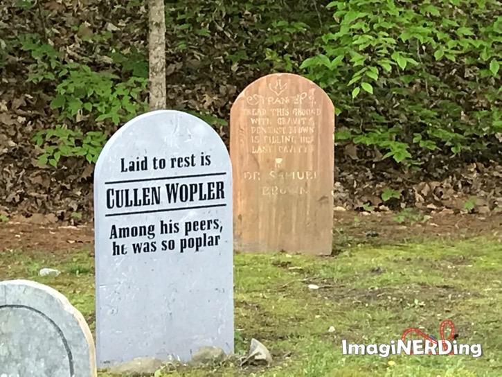 Dollywood lumberjack graveyard