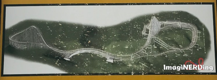waldameer roller coasters Ravine Flyer II map and layout
