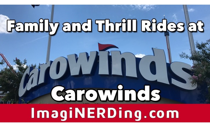 Carowinds Rides: Family and Thrill Rides!
