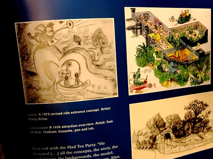 Alice In Wonderland Concept Art Disney