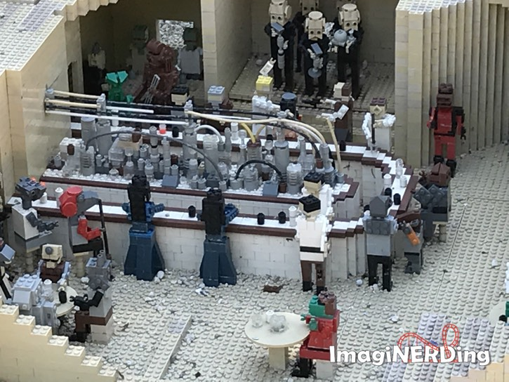 miniland usa at legoland florida star wars cantina
