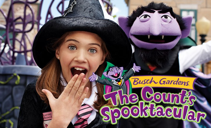 The Count's Spooktacular at Busch Gardens Williamsburg