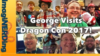 George visits dragon con 2017