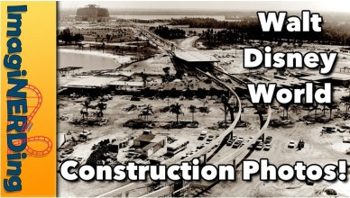 Rare Walt Disney World Construction Photos!