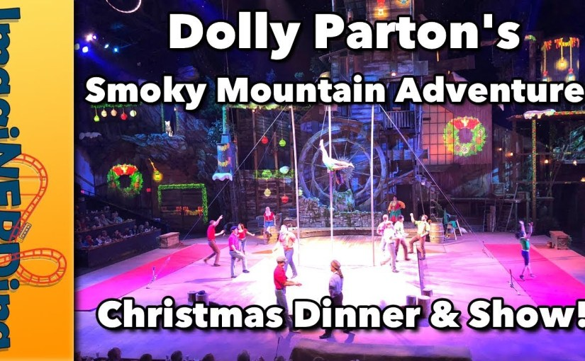 Dolly Parton's Smoky Mountain Adventure Christmas Show Video