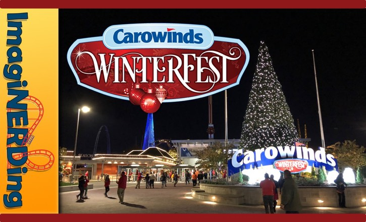 Carowinds winter fest christmas celebration