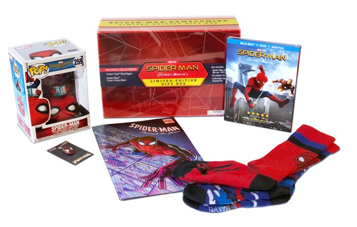 Spider-Man: Homecoming Limited-Edition Gift Box