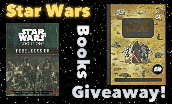 Star /wars Giveaway! Two Star Wars Books