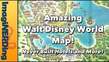 vintage Walt Disney World Map!