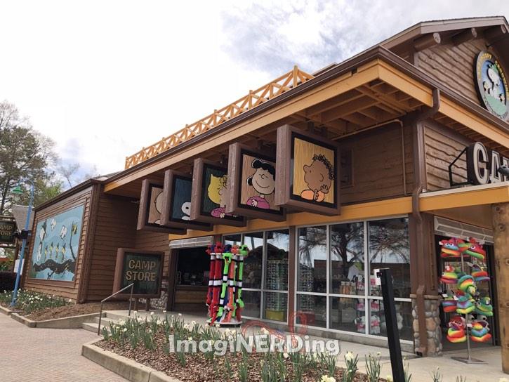 carowinds 2018 camp snoopy camp store