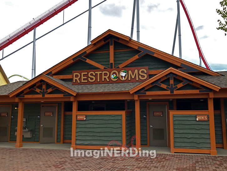 carowinds camp snoopy restrooms