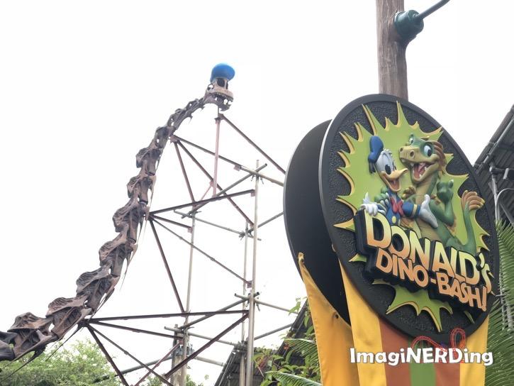 donald's dino-bash at animal kingdom