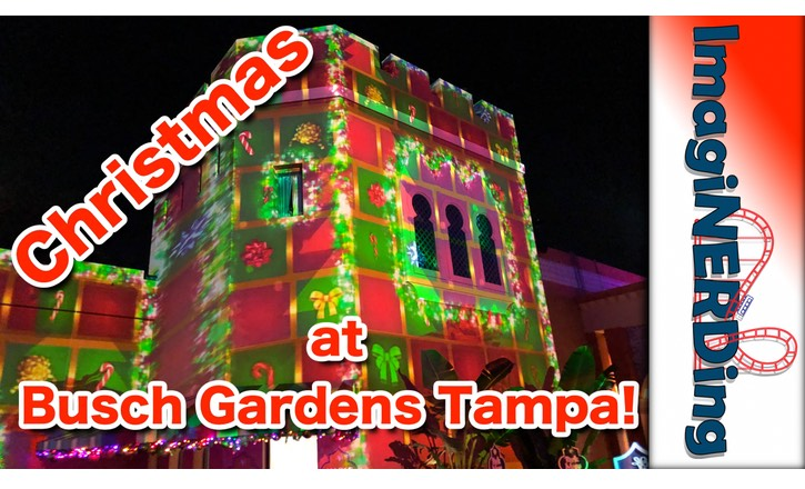 Christmas at Busch Gardens Tampa 2018
