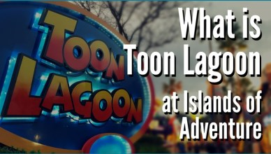 What Is Toon Lagoon at Islands of Adventure?