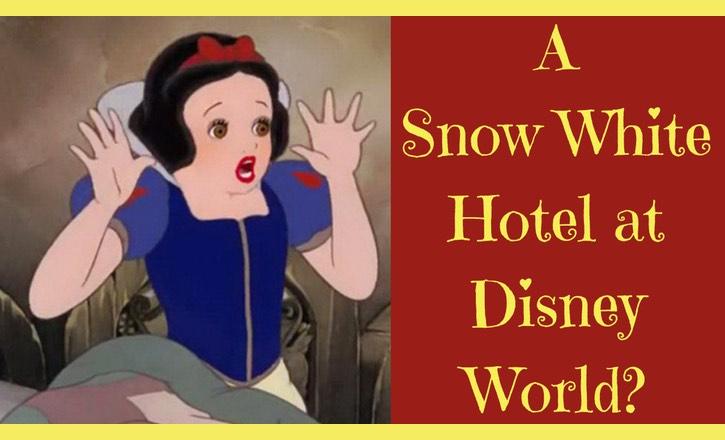 Snow White hotel at Disney