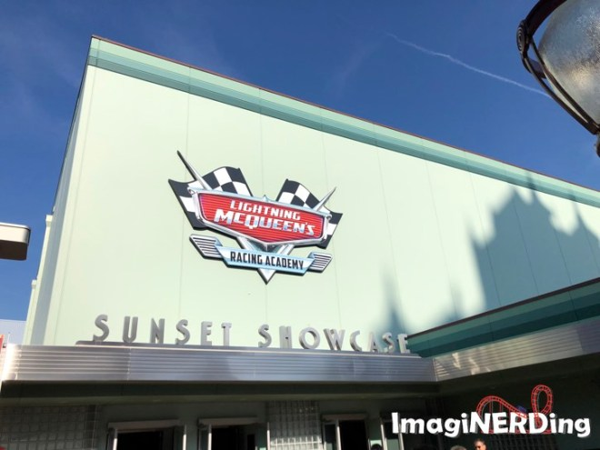 Lightning McQueen's Racing Academy ay Hollywood Studios