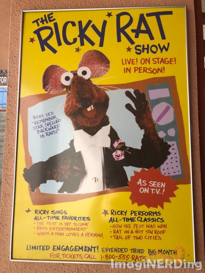 Ricky Rat Show at MuppetVision