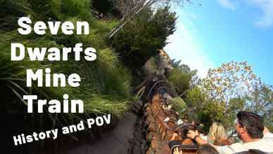 seven dwarfs mine train history and POV
