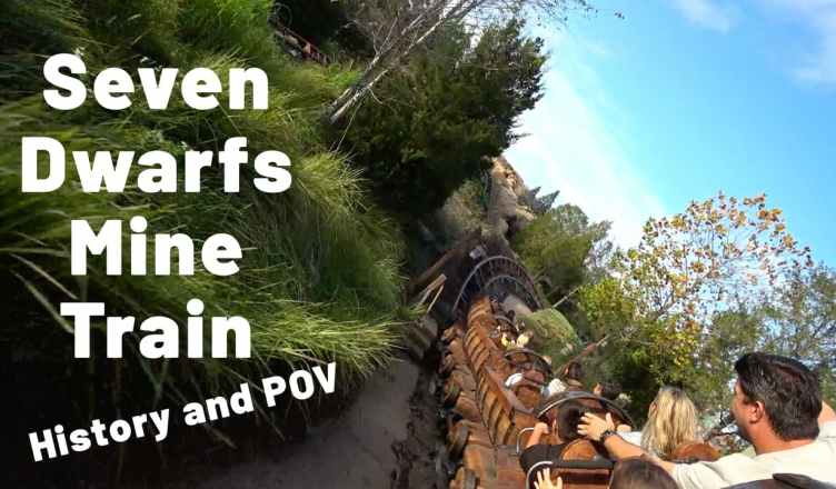 seven dwarfs mine train history and POV