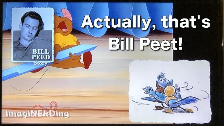 Cinderella story artist Bill Peet mistake