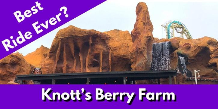 knott's berry farm theme park vlog