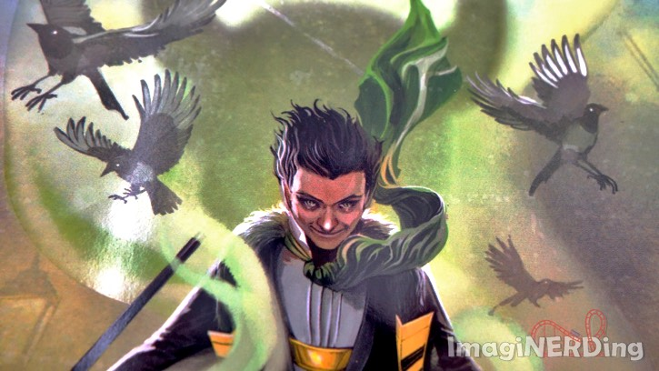 A close-up image of the cover of the book Loki: Where Mischief Lies