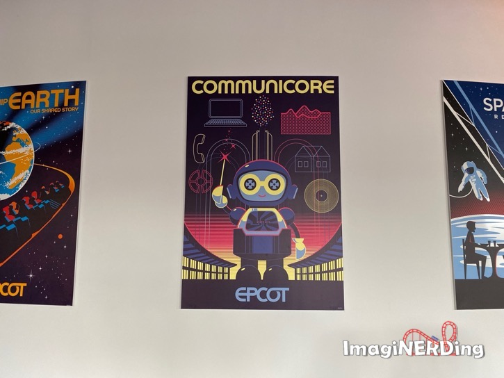 communicate epcot experience attraction posters