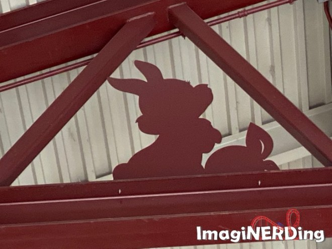 image of a rabbit in the market building at disney springs