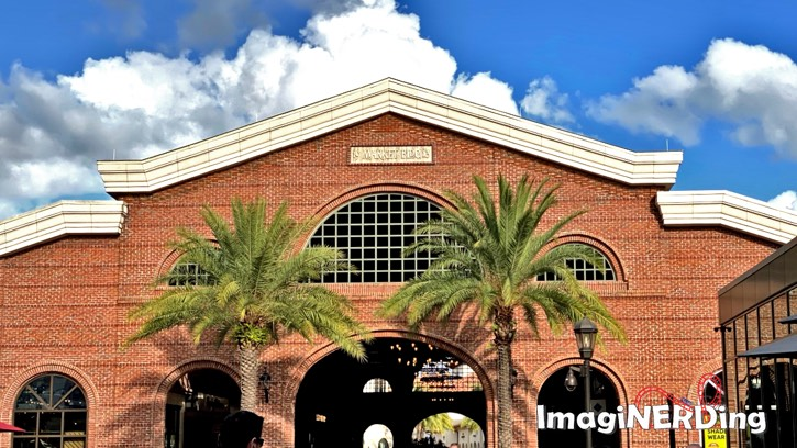 Disney Springs Market Building 1913