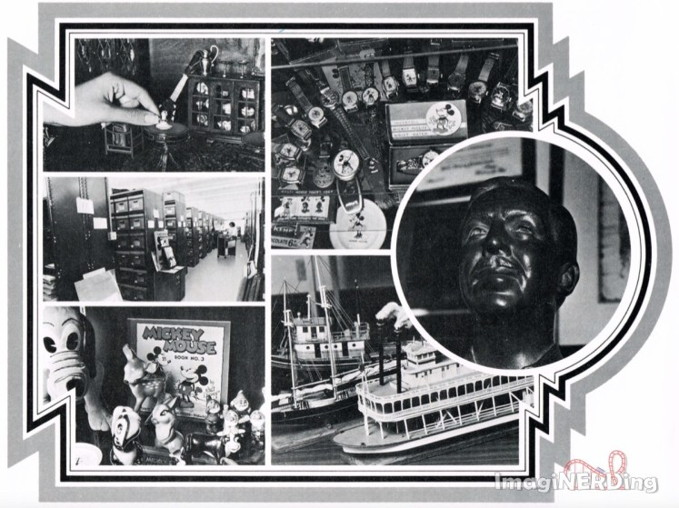 collage of images form the second page of an article on the Disney Archives