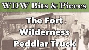 fort wilderness peddlar truck