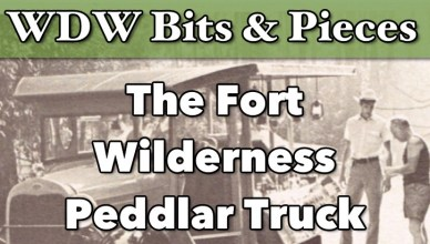 fort wilderness peddlar truck