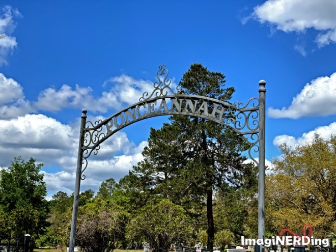 ponceannah cemetery walt disney's granparents are buried here in Paisley Florida