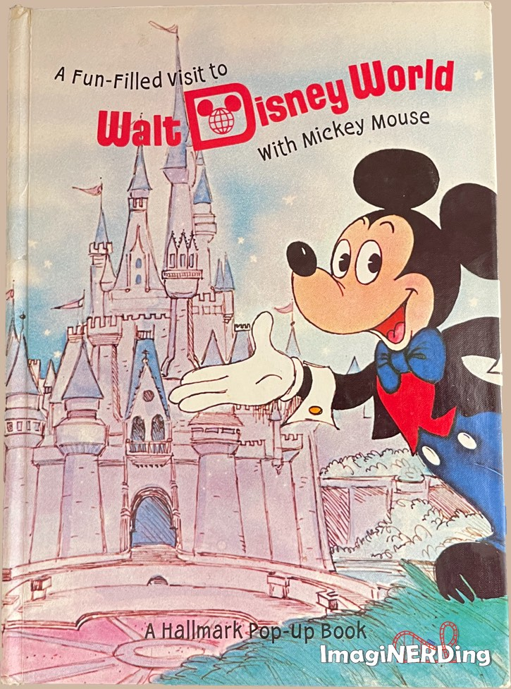 fun-filled visit to walt disney world with mickey mouse hallmark pop-up book