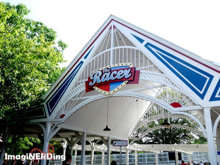 the racer at kings island: a ride through time