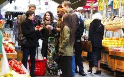 Market lessons in Paris