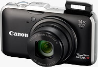 Canon's PowerShot SX230 HS digital camera. Photo provided by Canon USA Inc.