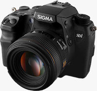 Sigma's SD1 digital SLR. Photo provided by Sigma Corp.