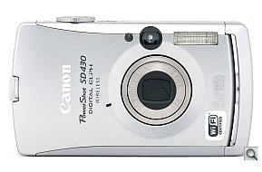image of Canon PowerShot SD430