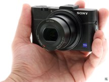 Sony RX100 II -- the camera in-hand