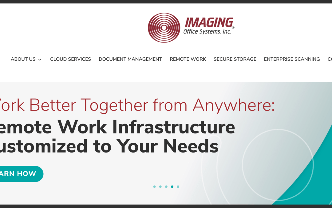 Imaging Office Systems Introduces New Website