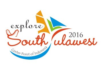Logo Explore South Sulawesi 2016 (Official 2016 South Sulawesi Tourism Campaign by Tourism Board of South Sulawesi Province)