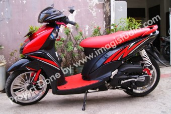 Striping Motor Yamaha Mio Matic by iimagistudio dotcom