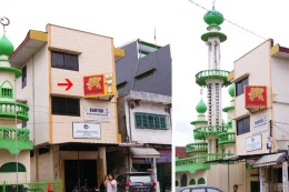 Billboard 2 Sisi Grand Elephant Jl. Rajawali I Makassar (Toko Rajawali) Pesanan dari Jakarta.